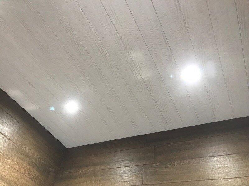Реечный потолок №14