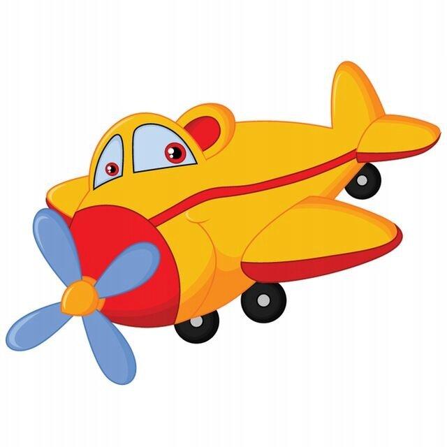Самолетик картинка детская