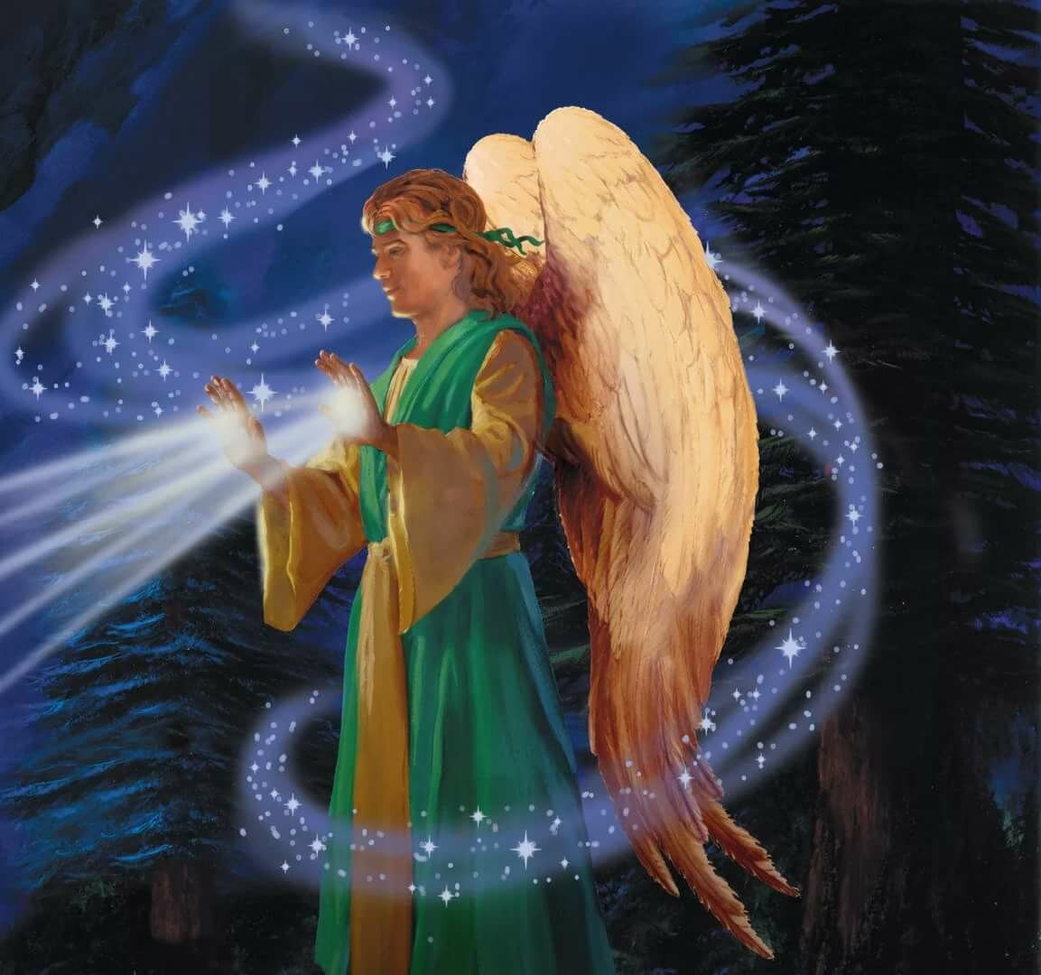 Гифки ангелов и архангелов меня куча