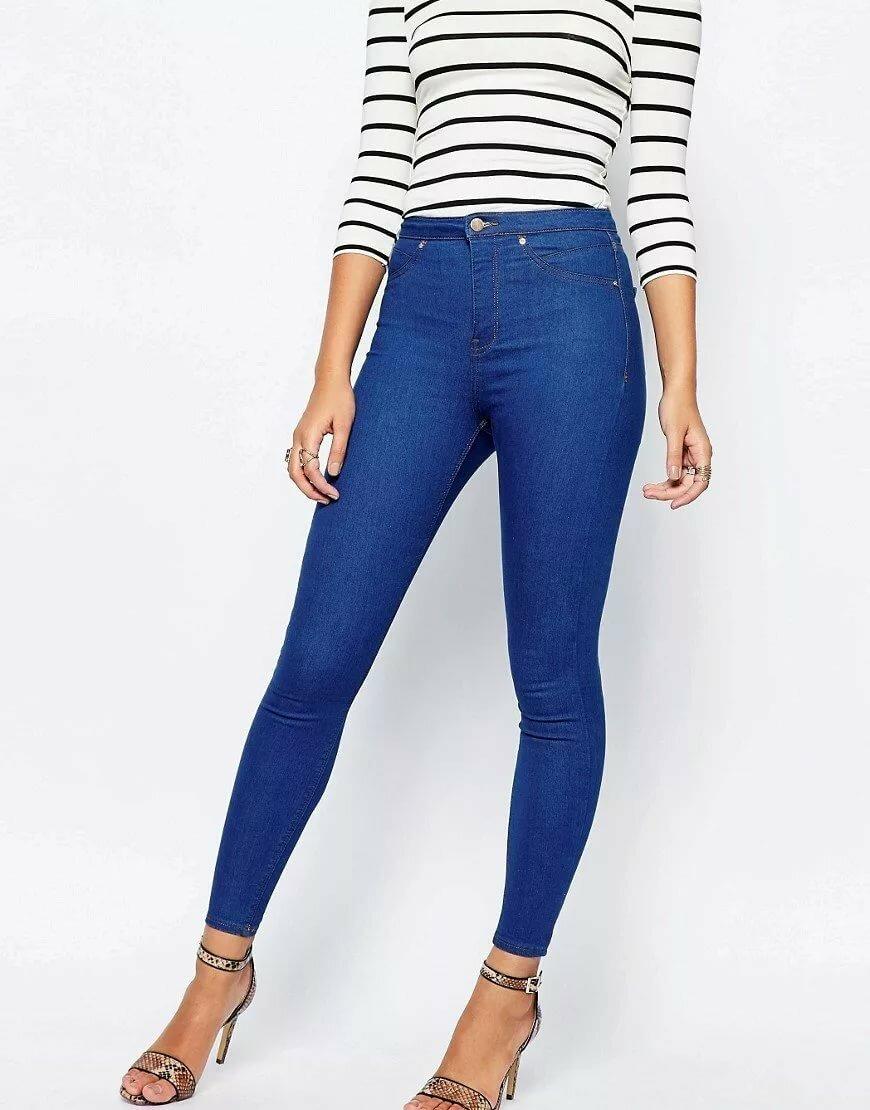 ярко синие джинсы женские фото учтите, что