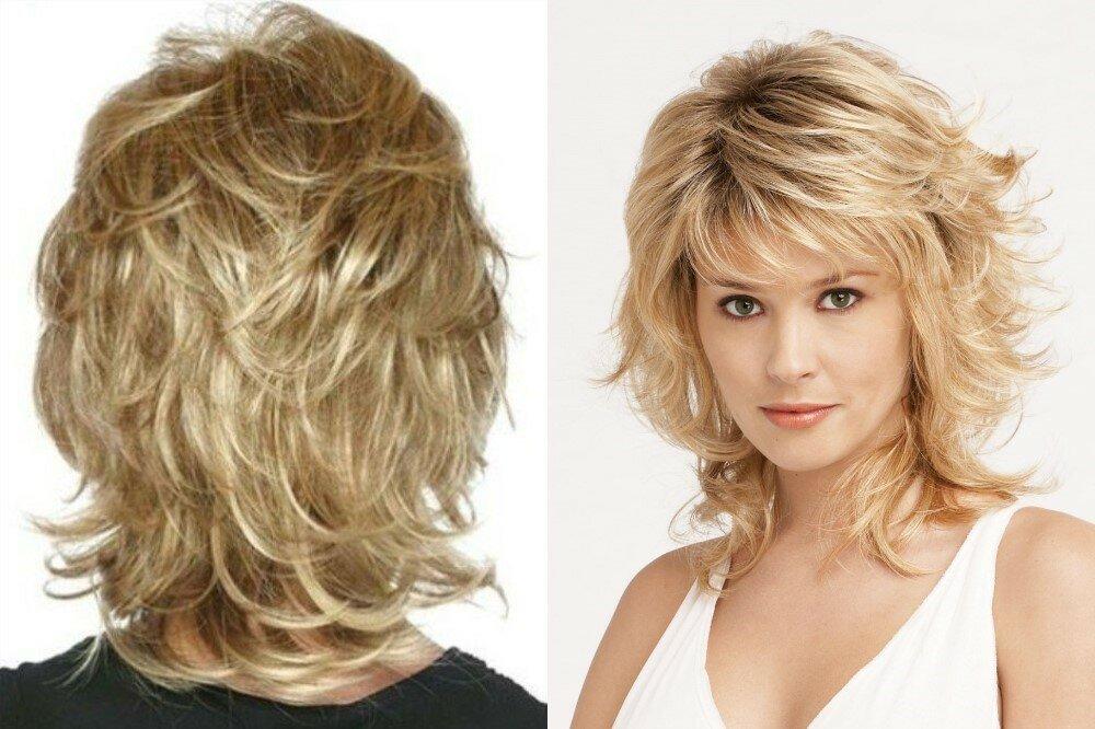 стрижка рапсодия на средние тонкие волосы фото скорее
