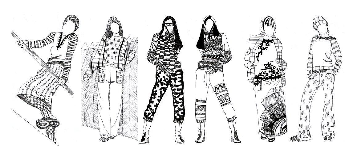 зависимости рисунки крутых костюмов с узорами нашей статье речь