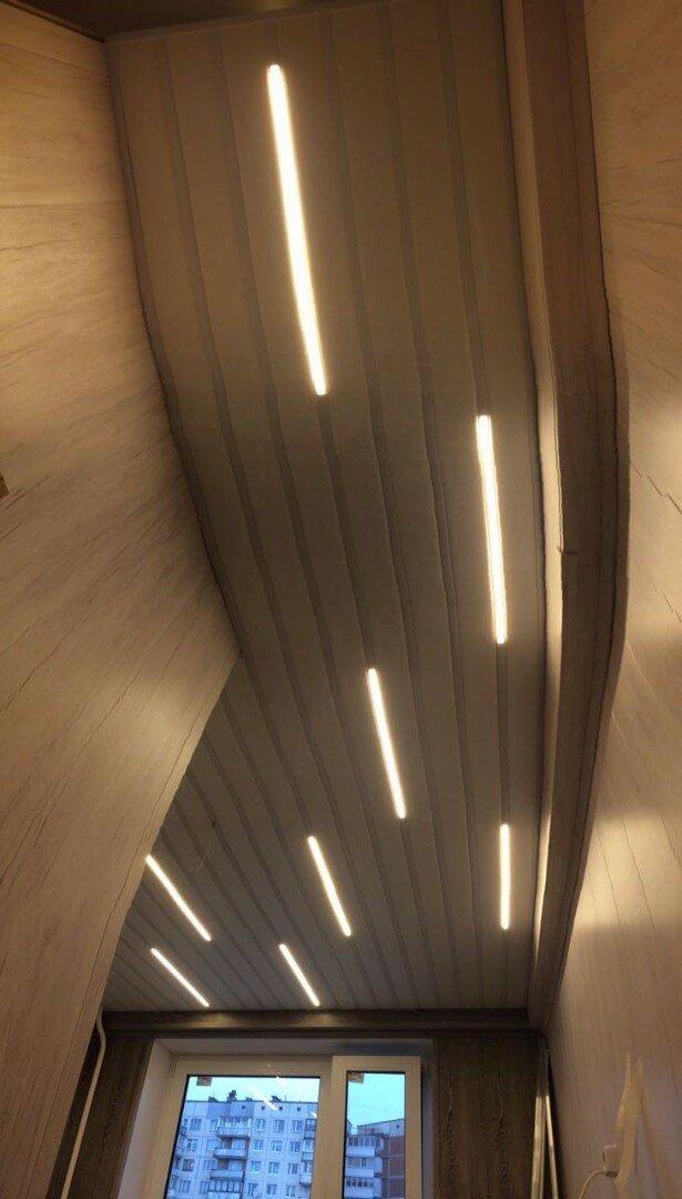 Реечный потолок №51