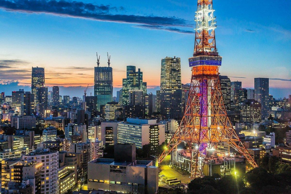 Картинки токийская башня