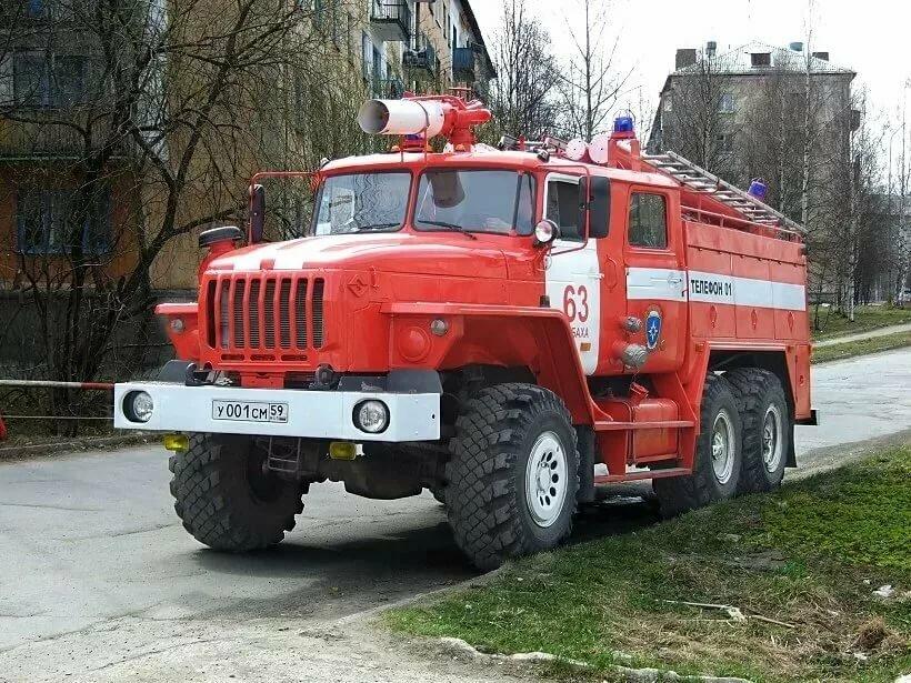 пожарная машина россии очень важно