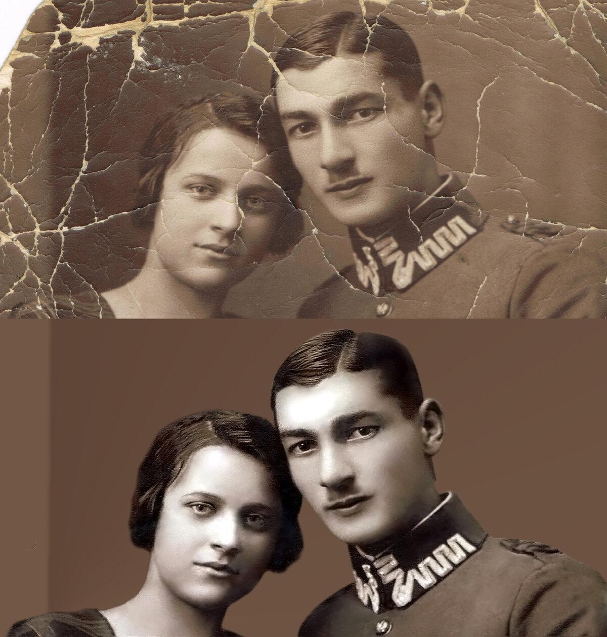 Реставрация фотографий москва