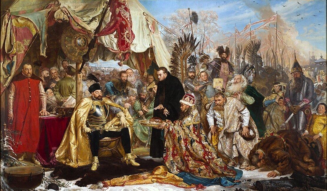 15 января 1582 года заключен Ям-Запольский мирный договор