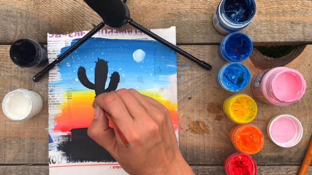 картинке картинки какие можно нарисовать из гуаши инстагаму