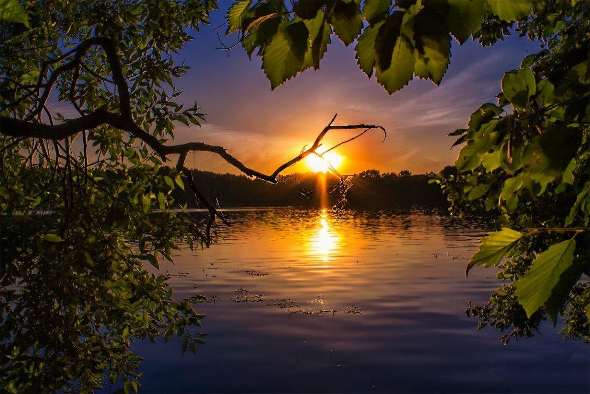 Картинка доброго вечера природа