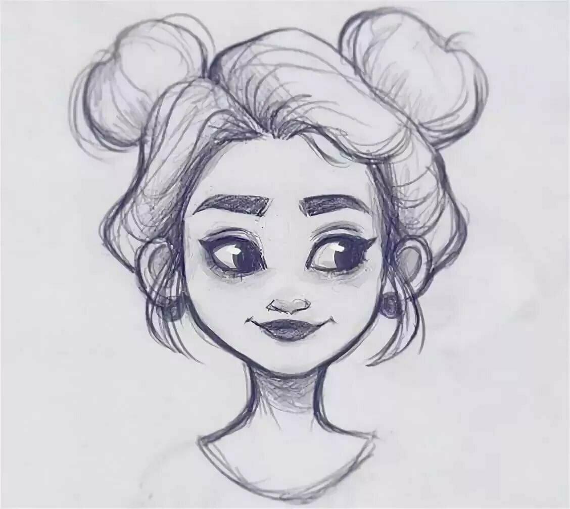 Картинки для срисовки красивые в лд карандашом