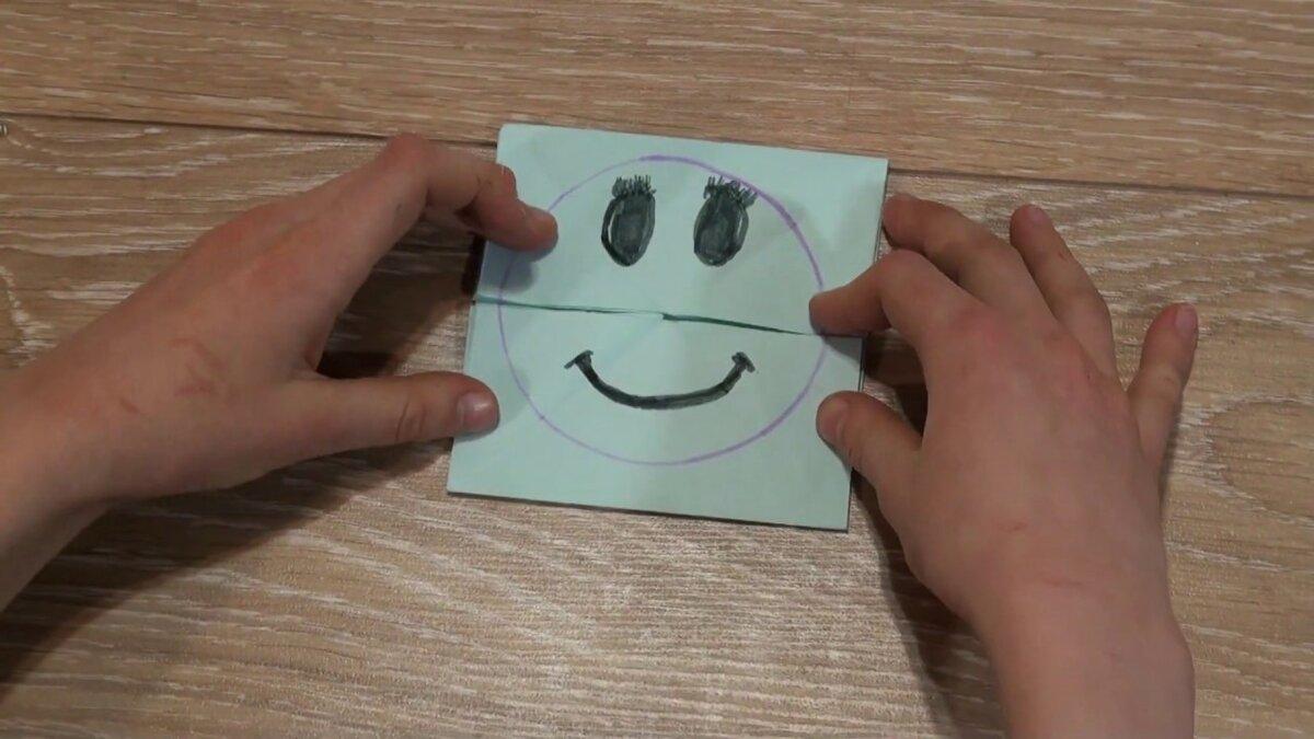 Смайлики открытка своими руками