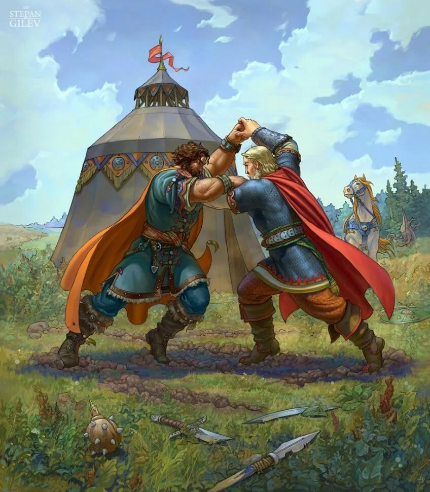 Фото картинки русских богатырей