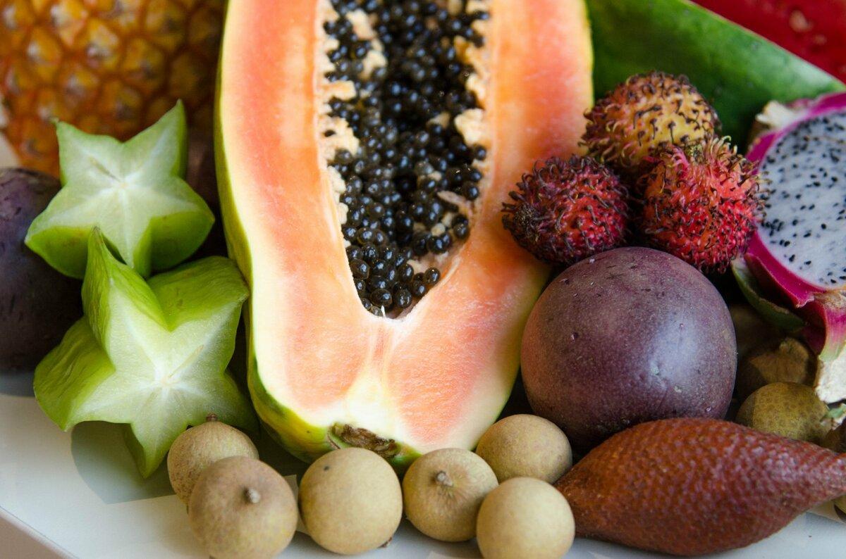 картинки с тропическими плодами нейтральную полосу