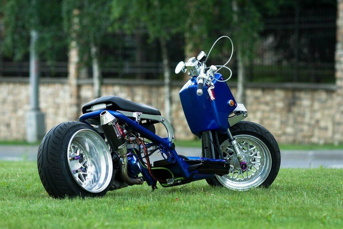 Тюнинг скутера Honda Zoomer AF-58