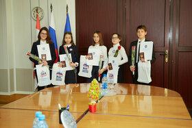 В День Конституции РФ ученикам гимназии №38 паспорта вручили в Администрации г.о. Тольятти