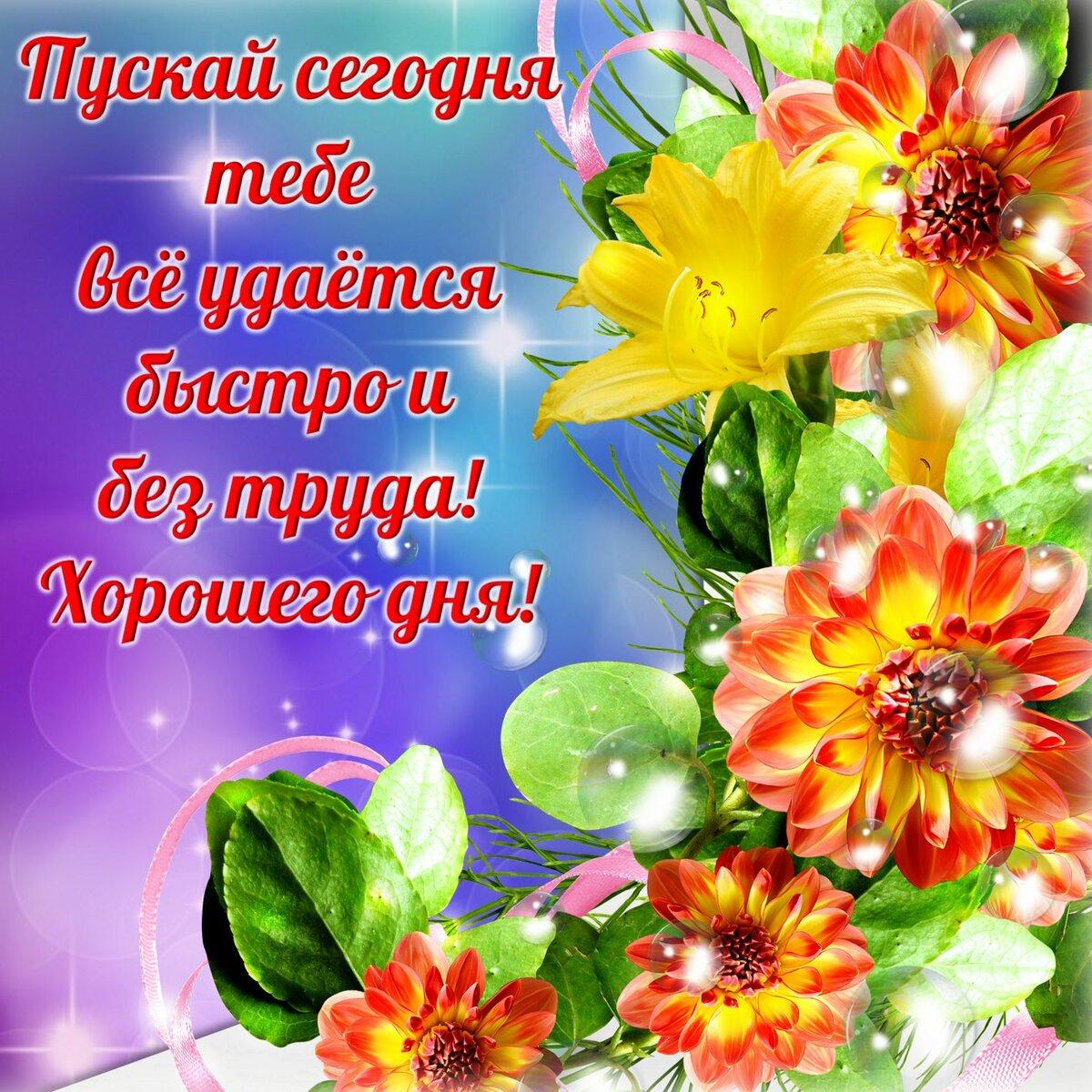 Пожелание всем хорошего дня