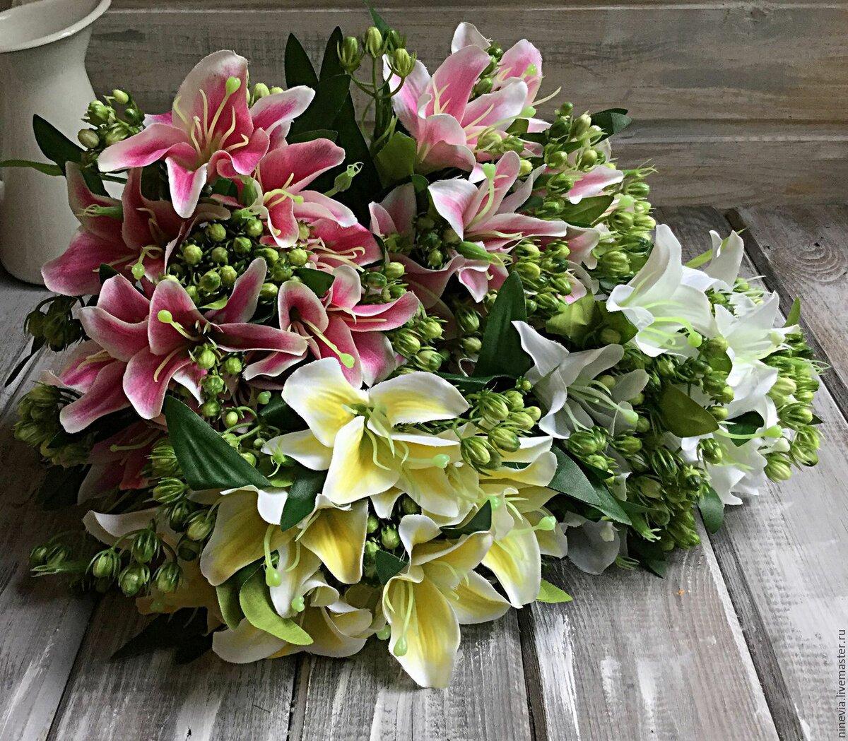 Картинки самые красивые букеты из лилий