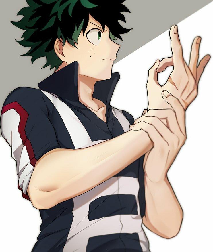 Картинки аниме моя геройская академия мидория онлайн