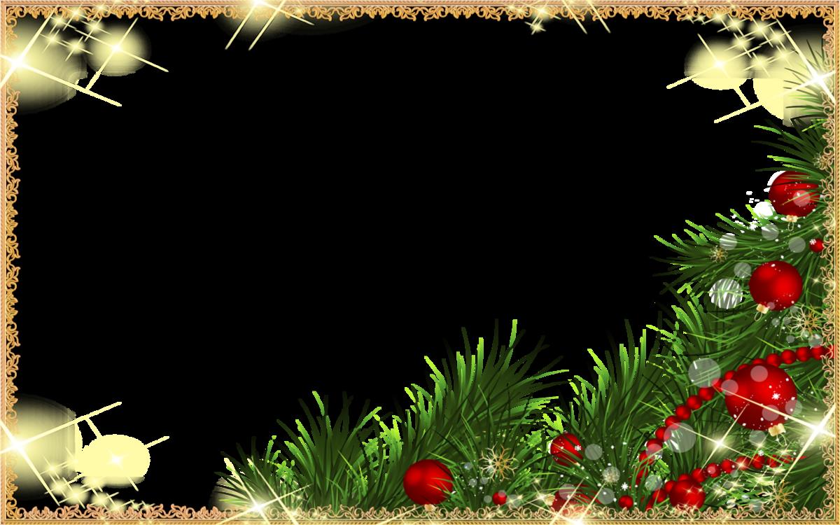 Рамки новогодней открытки