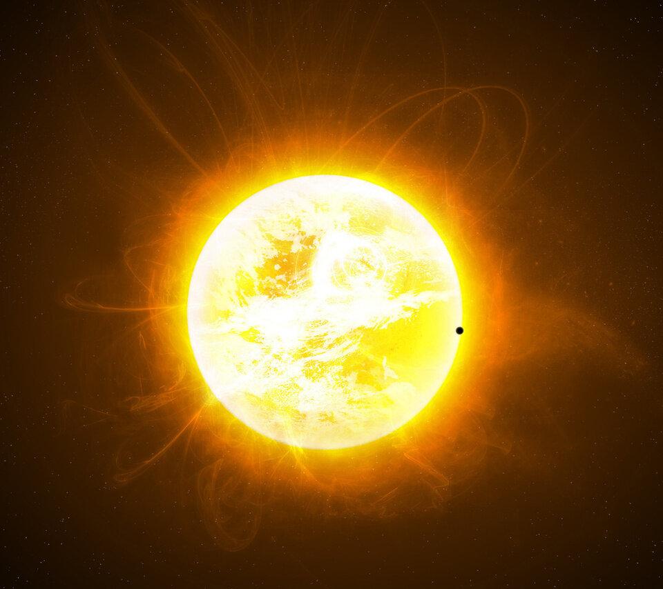 Изображение солнца на картинке