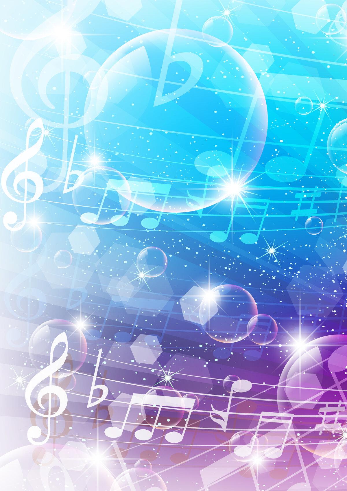 Абстрактные картинки о музыке