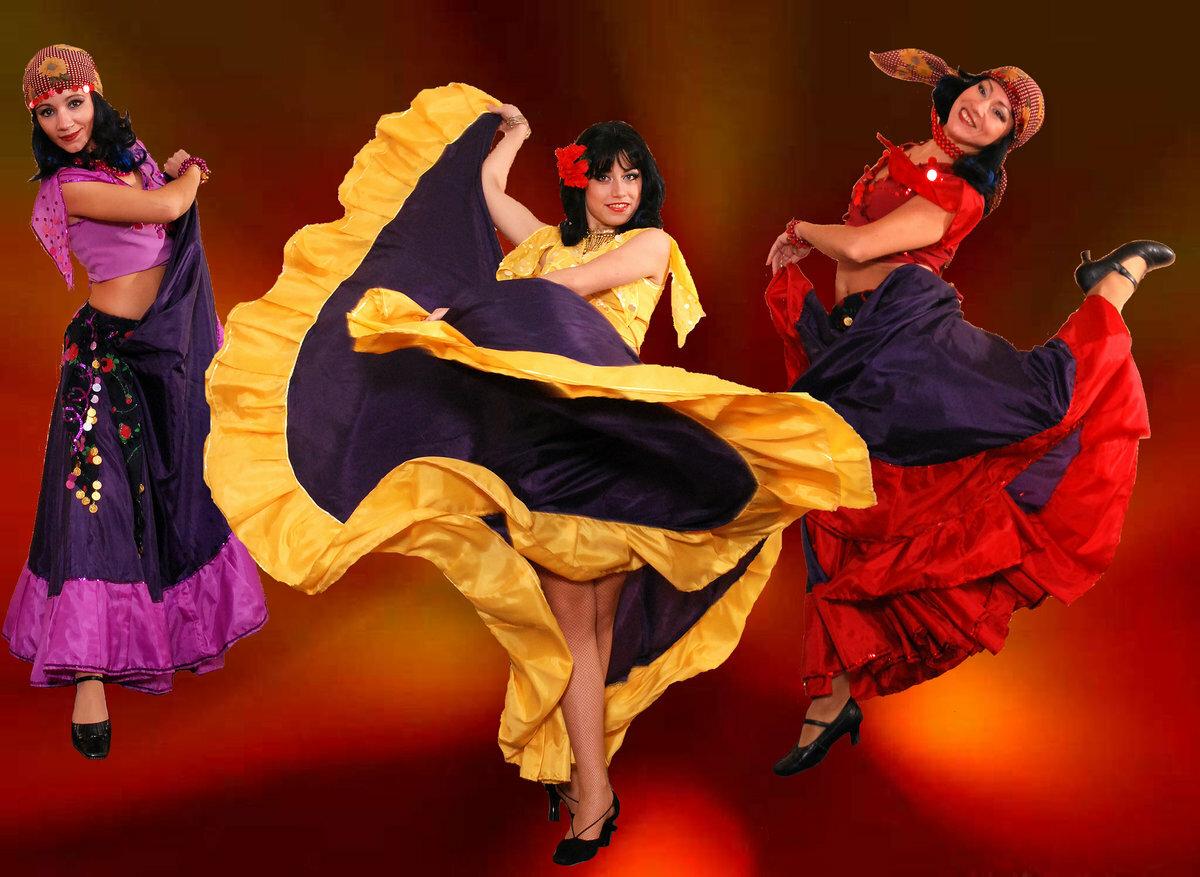 Красивые картинки танцующих цыган