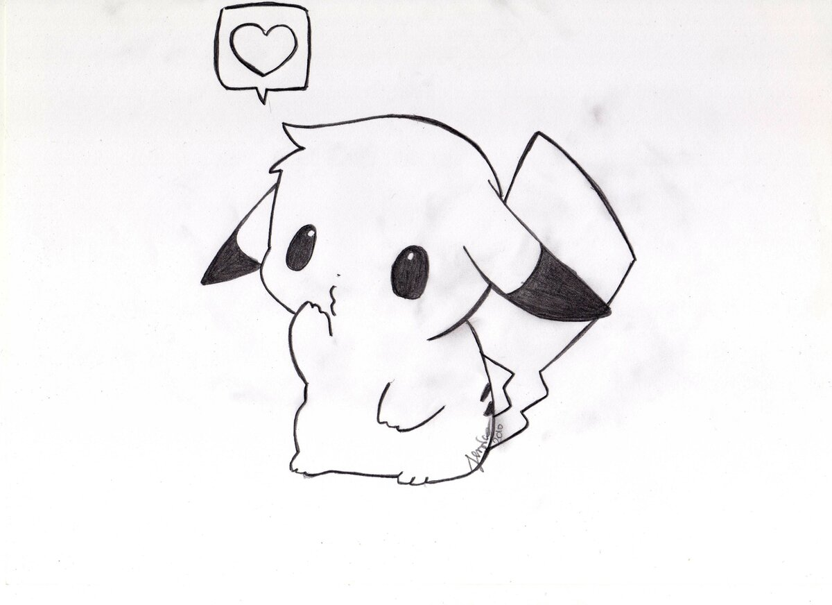Рисунки для срисовки легкие и красивые картинки для начинающих милые
