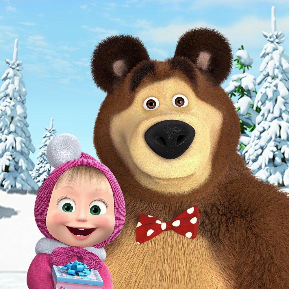 Картинки маща и медведь