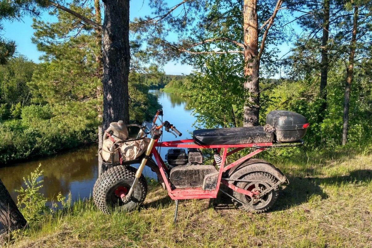 Внедорожный мотоцикл Альбатрос