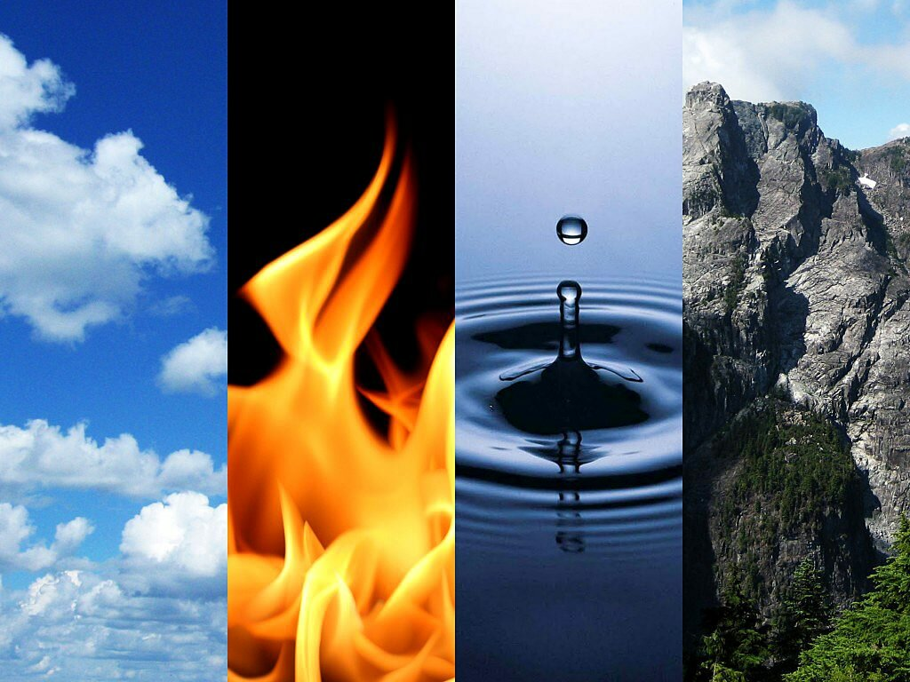 вода огонь земля картинки предполагаемых