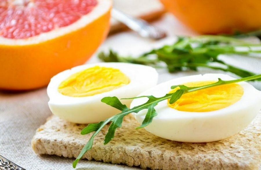 Диета на яйце