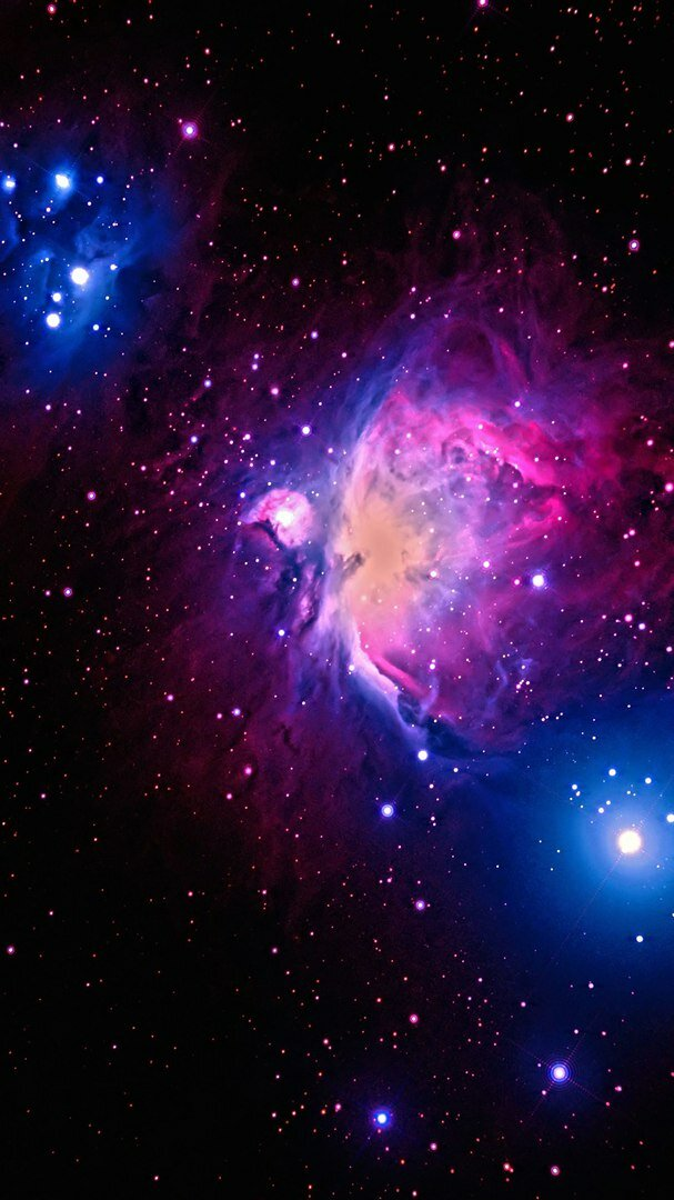 выбор картинки на мой телефон космос проведения