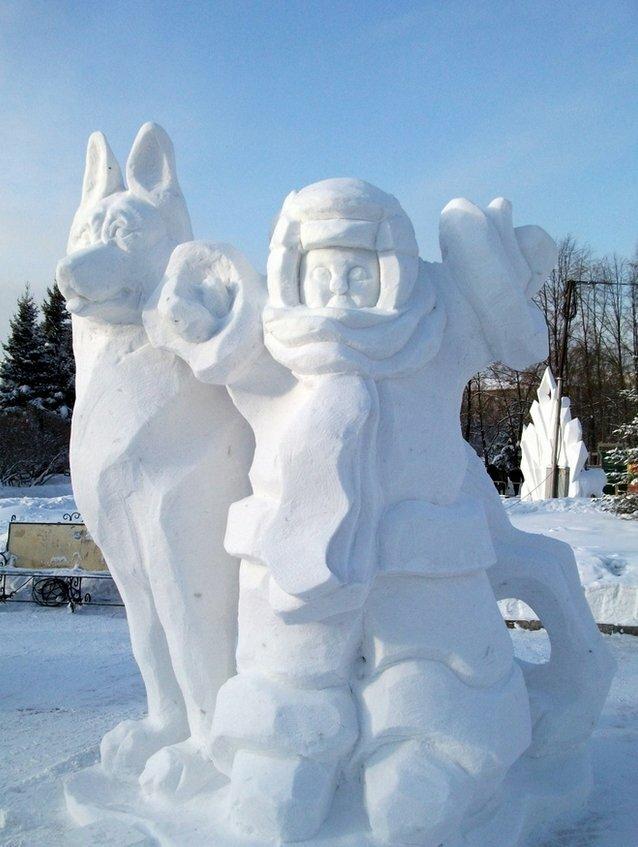 могут устанавливать картинки фигур из снега фотографию под размер