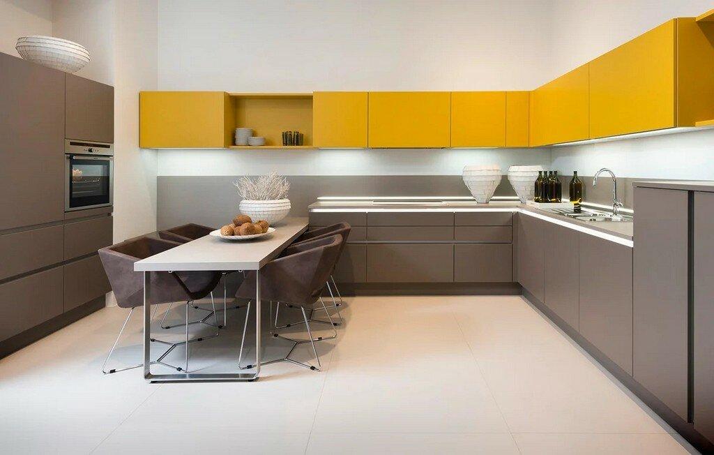 кухни модерн угловые фото дизайн