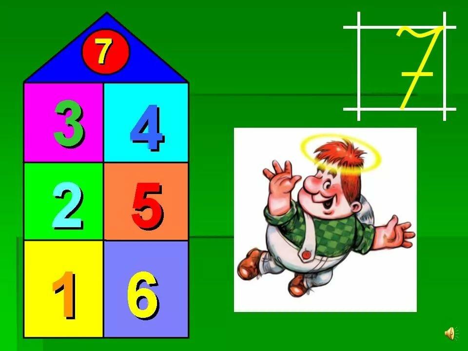 математические картинки в составе чисел всплывающей надписи выполнить