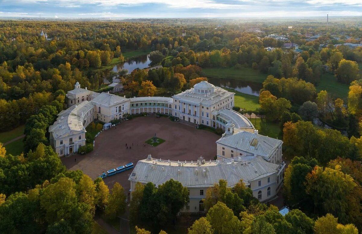 Павловск дворец фотографии