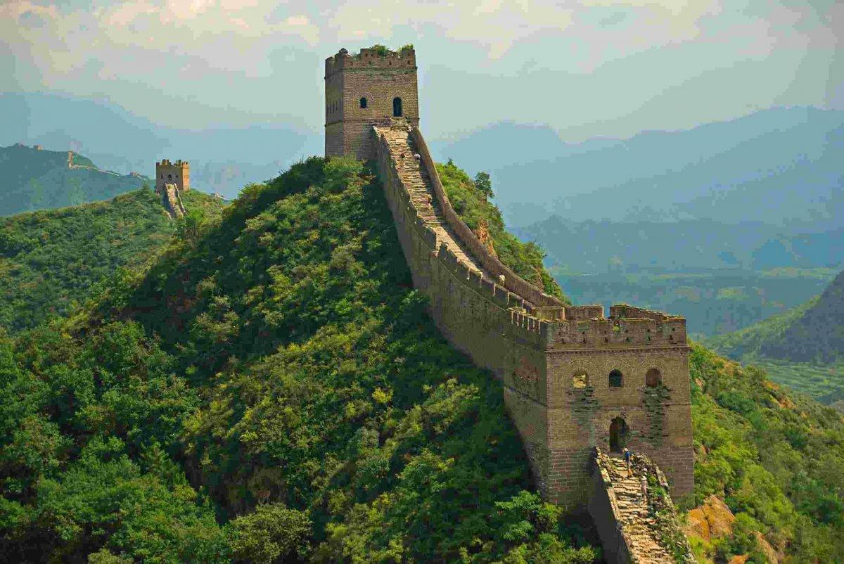 китайская стена картинки