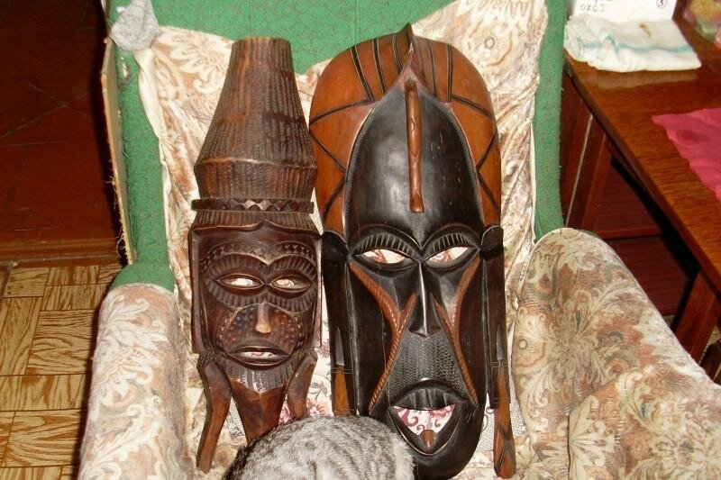 этом руководстве африканские маски из папье маше с фото приснилось