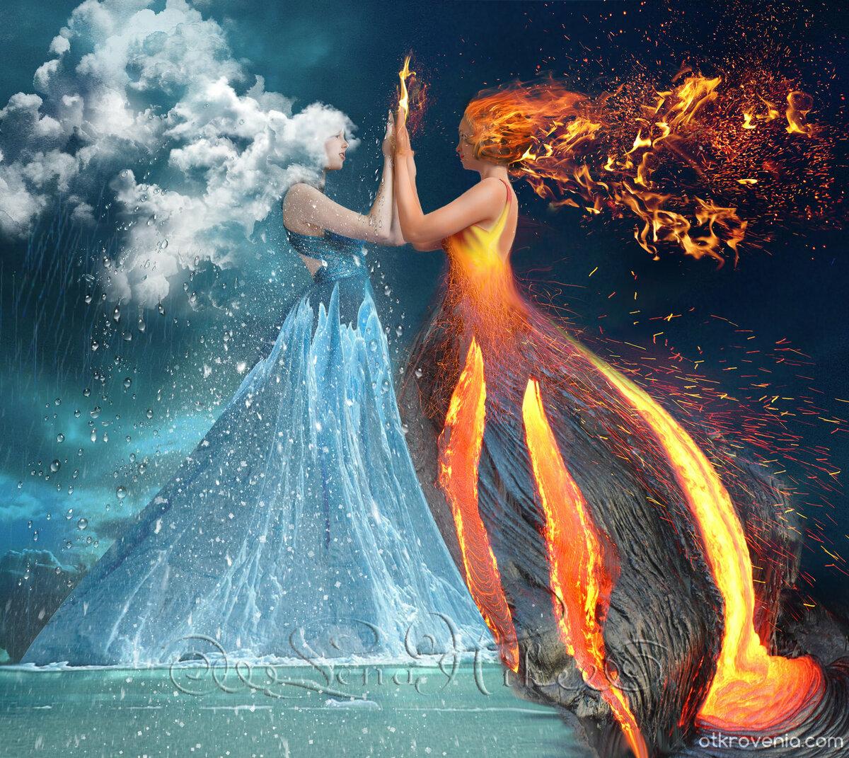 позволит, картинки искра огонь и вода разработал детальный