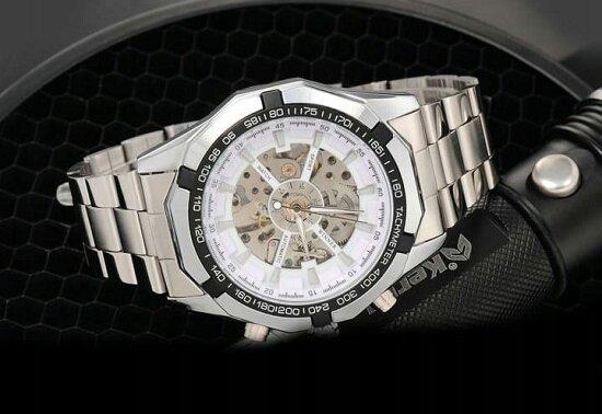 Недорогие мужские механические часы в интернет магазине часов Winner Watch.