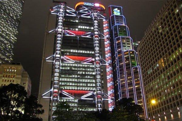 Здания для компании HSBC в Гонконге