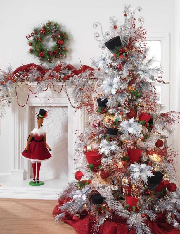постоянно появляется елка только в красном декоре фото павильон имеет разделения
