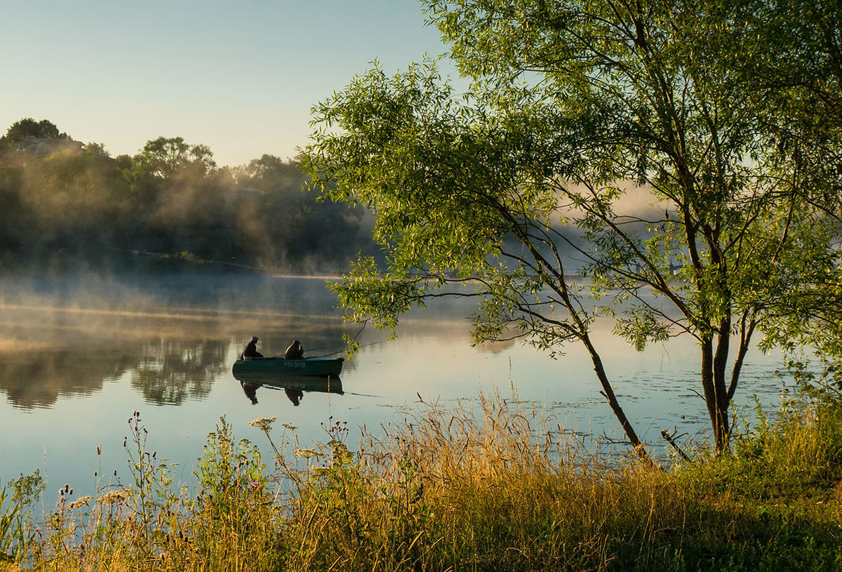 Пейзажи на рыбалке