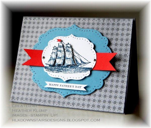 открытка с днем рождения с кораблями своими руками