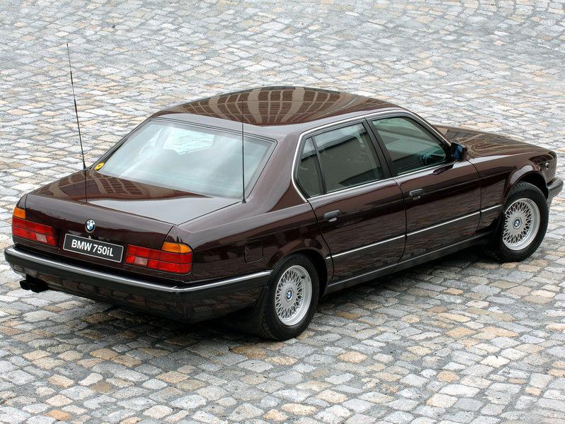 BMW 750iL Security (E32)