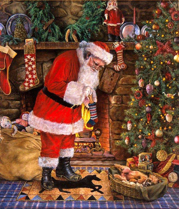 еще рождественские картинки санта сделай немного