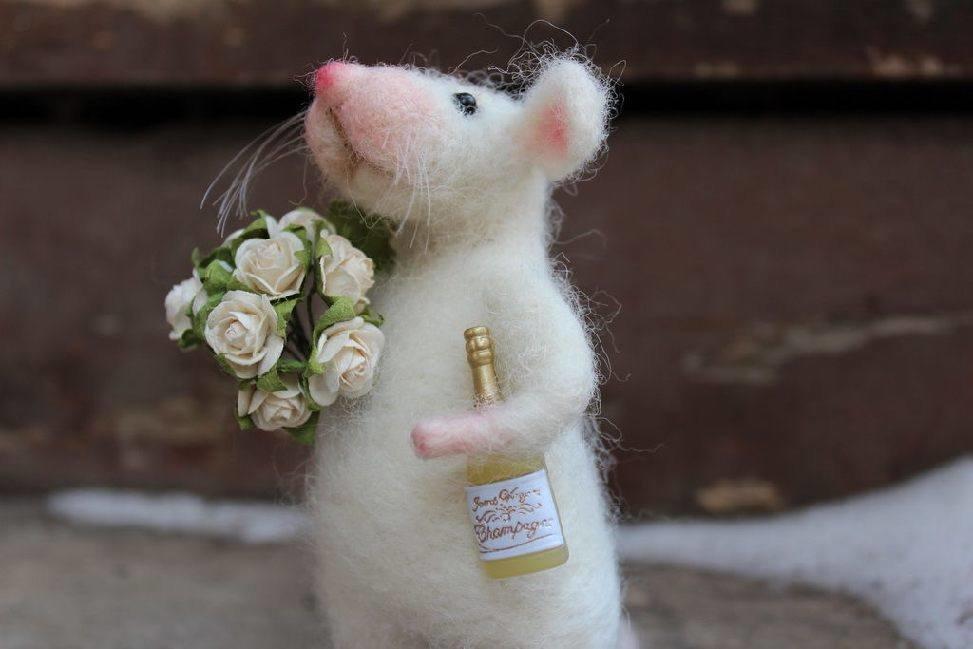 Картинки с днем рождения с крысами, леди