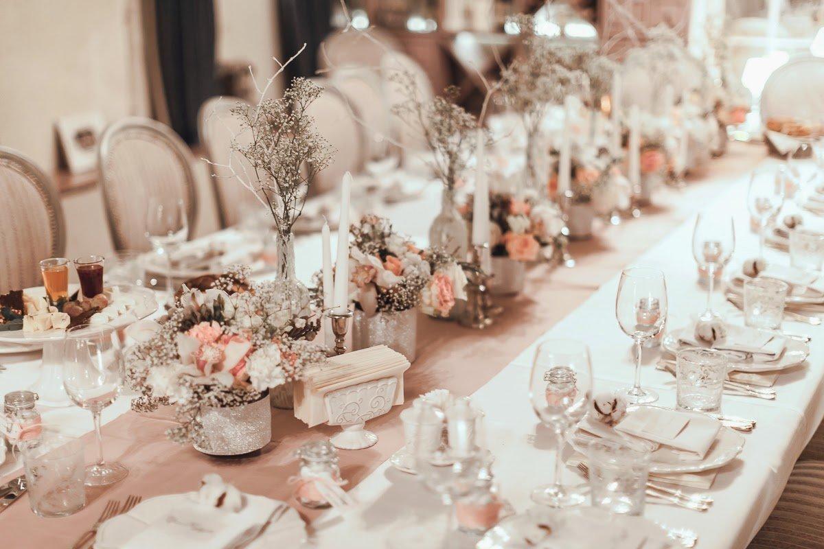 Картинки оформление стола на свадьбу