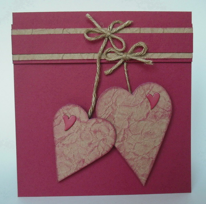 открытки скрапбукинг ко дню валентина розовый фон