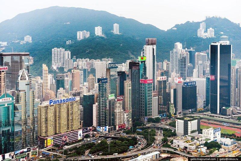 Пейзаж Гонконга